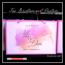 Tas bridesmaid costum