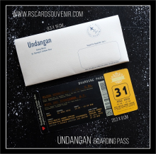 Undangan Boarding Pass 04