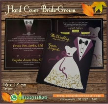 Undangan Hard Cover Bride Groom