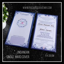 Undangan Single Hard Cover paket hemat SHC-DY